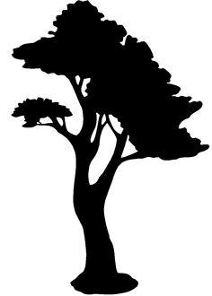 Bonsai clipart cypress tree Pinterest stencil tree Google Search