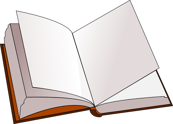 Book clipart book page Clker at Clip  at
