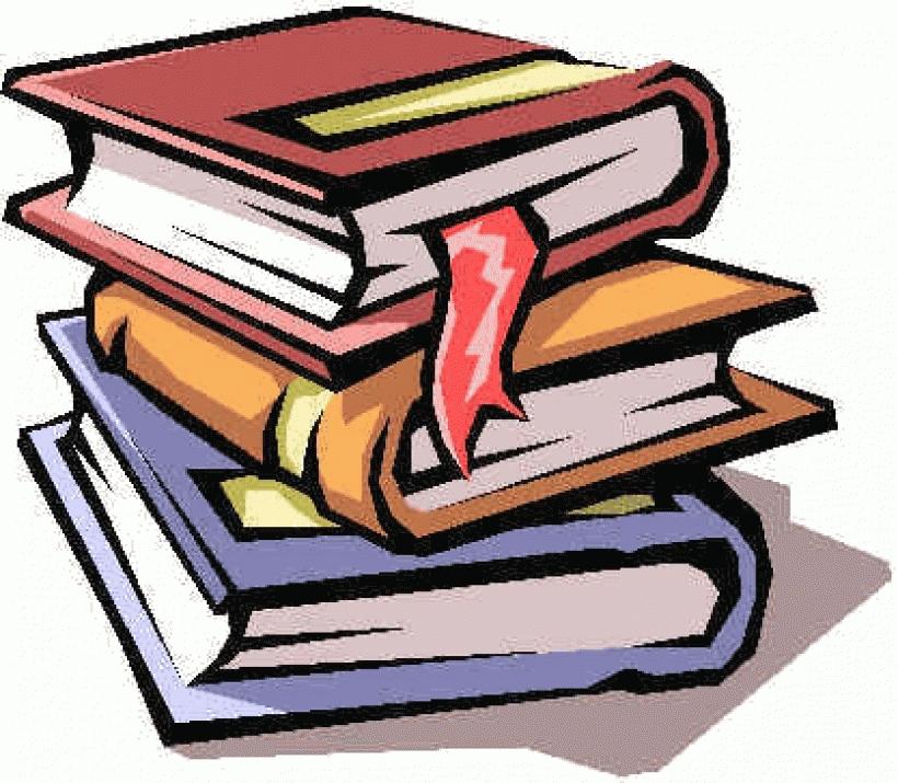 Bobook clipart piled Clip books clip book WikiClipArt