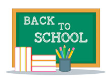 Book clipart chalkboard Pictures School school back for