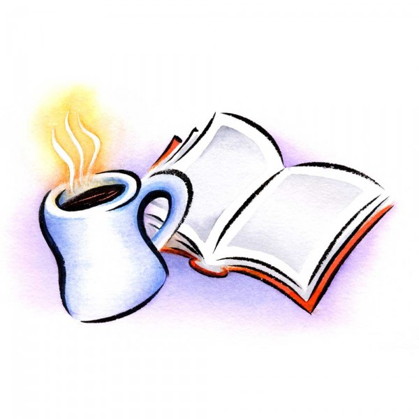 Bobook clipart coffee and Haight and spot Book Sandy