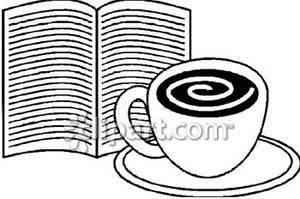 Bobook clipart coffee and Picture Coffee Book and Royalty