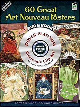 Bobook clipart dvd (Dover DVD Belanger Platinum Books