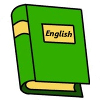 Book clipart english book Art english English book Clipart