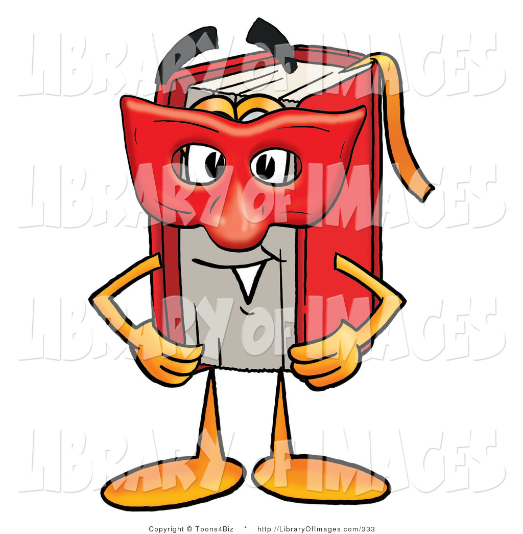 Book clipart face A a Art Red Character