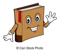 Book clipart face Cartoon cartoon Vector Book