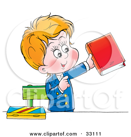 Book clipart his Clipart with Boy ClipartFest Boy