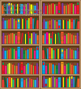 Book clipart horizontal Book with Lots Lots Clipart