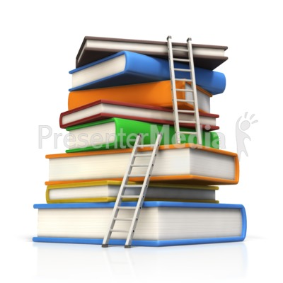Book clipart ladder Presentation Great to Ladder Clipart