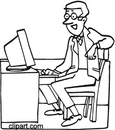 Book clipart office Clipart Free Office Clip Work