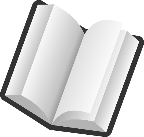 Book clipart open text Free Text Books Text