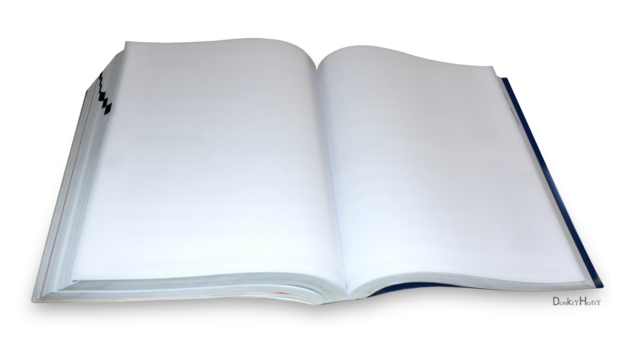 Book clipart open text Not text casting Blank photo