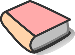 Bobook clipart pink Clip Reading Pink online Book