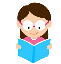 Book clipart reading a Excited Clipart Illustrations clipart Kb