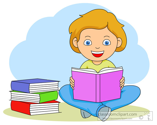 Book clipart reading a Reading art books reading Clip