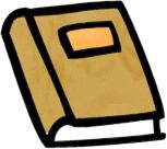 Bobook clipart small Free  Brown Book Book