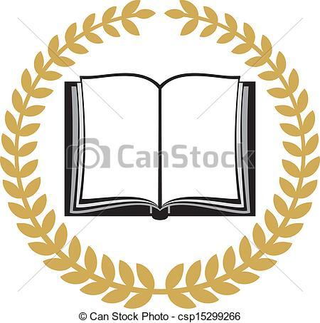 Bobook clipart symbol  Clipart Symbol Book