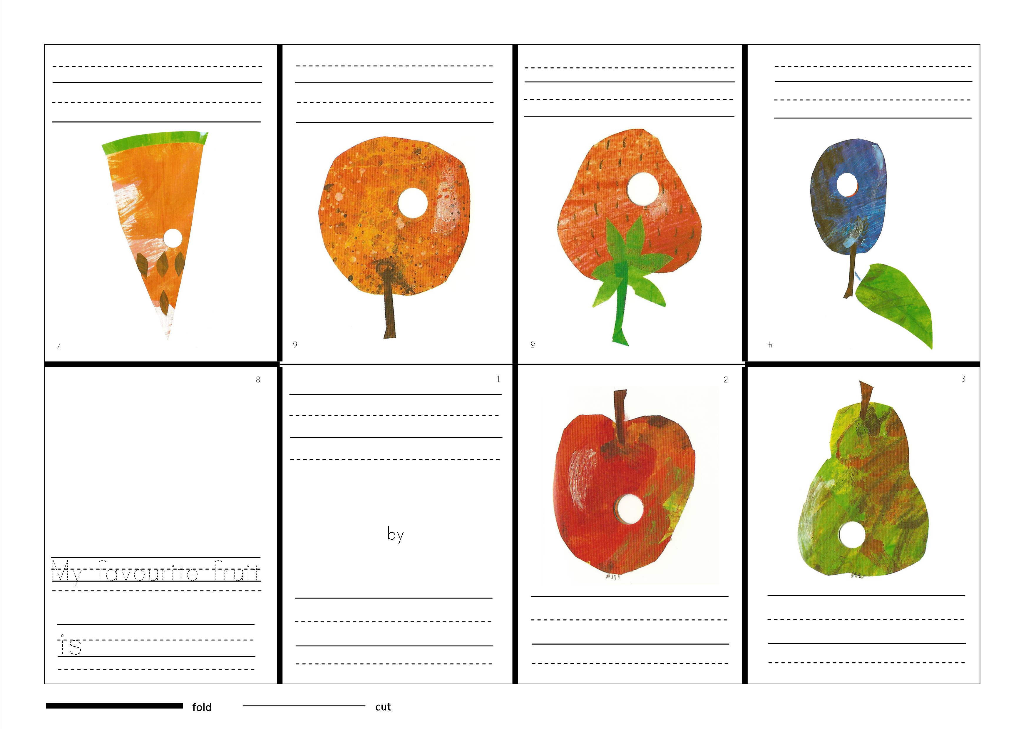 Bobook clipart the very hungry caterpillar Caterpillar Write Hungry The Very
