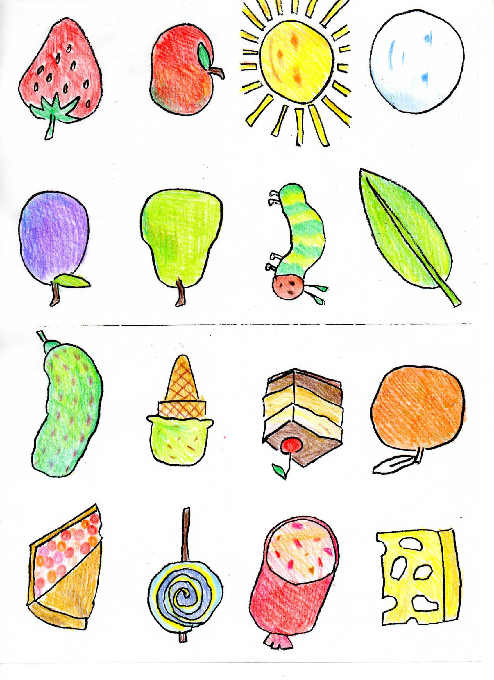 Bobook clipart the very hungry caterpillar  Hungry food The Hungry