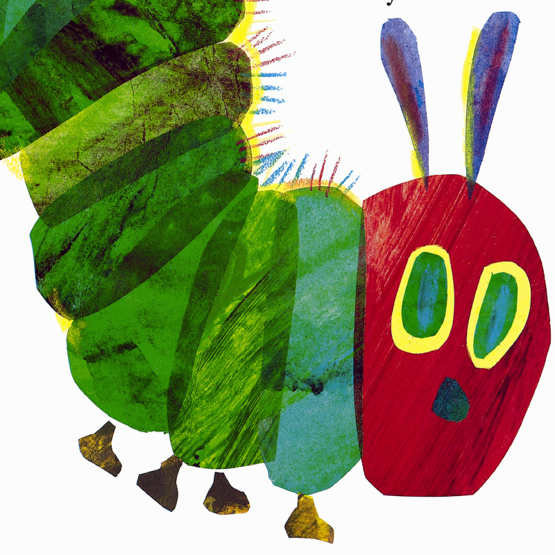 Bobook clipart the very hungry caterpillar IN Caterpillar A  The