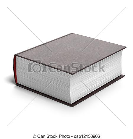 Book clipart thick Red book Illustrations white 149