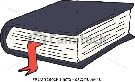 Book clipart thick  book 250 thick Cartoon