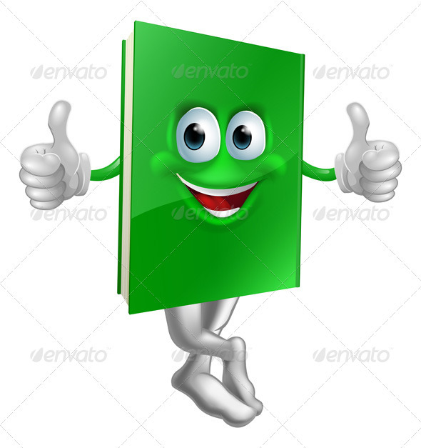 Book clipart thumbs up Green green Cute Characters Cute