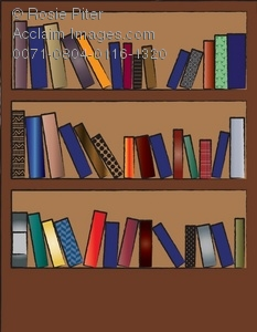Bookcase clipart Bookcase of Illustration Clipart Full