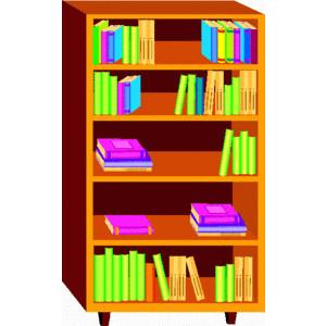 Bookcase clipart Bookcase Polyvore bookcase clip bookcase