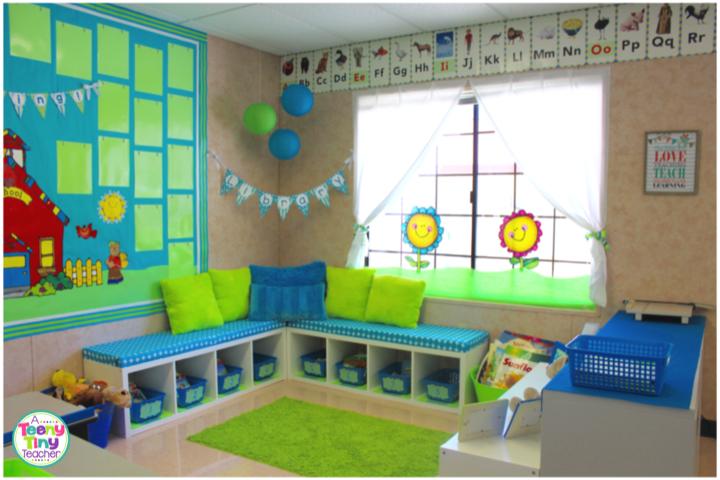 Bookcase clipart classroom library Tiny Classroom Teeny A Classroom
