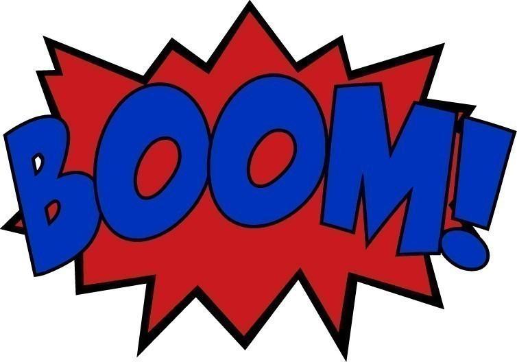 Comics clipart boom #10