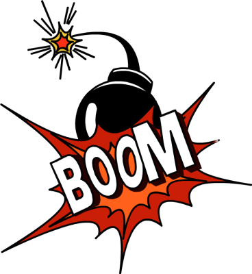 Explosions clipart war Clipart Free Panda Boom Images