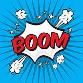 Boom clipart Royalty GoGraph Boom comics Clip