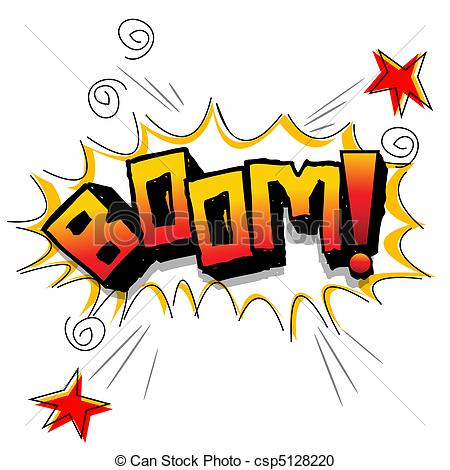 Boom clipart art With  of stars boom