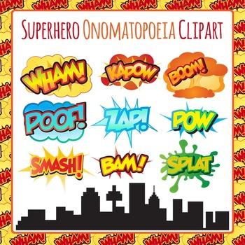 Boom clipart kapow Superhero Pow Art Wham Onomatopoeia