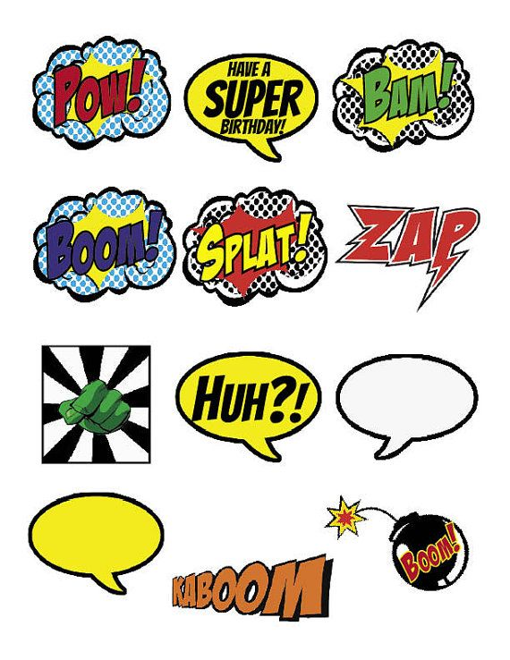 Boom clipart cloud About 00 Superhero Pinterest CLIPART