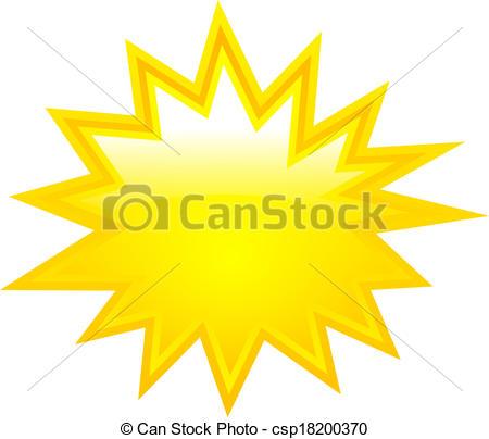 Boom clipart vector Yellow boom boom  Vectors