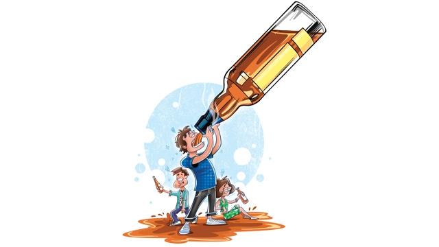 Boose clipart alcohol abuse Future of Number the teenagers