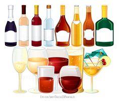 Boose clipart alcohol bottle Clipart wine Drink clipart clip