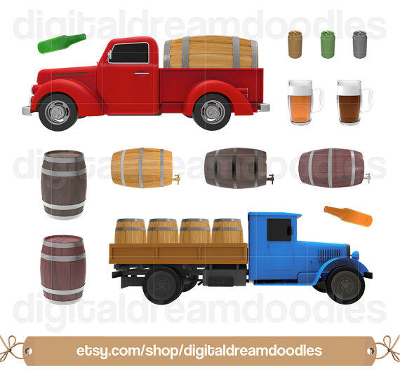 Boose clipart beer can Digital Graphic Alcohol Beer Keg
