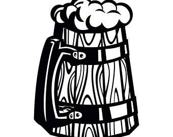 Boose clipart beer stein Bar #1 Wooden Liquor Etsy