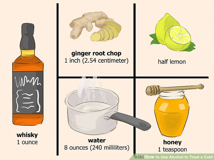 Liquor clipart cold drink Treat to 3 a wikiHow