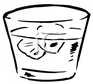 Boose clipart ice water Free Drinking  Clipart Black