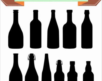 Boose clipart mixed drink Wine Silhouette Alcohol Files Etsy