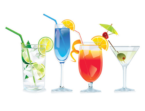 Boose clipart mixed drink Free glass Vector Clip Wine