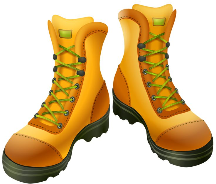Outdoor clipart walking boot Best accessoires clipart 685 about