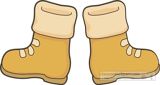 Boots clipart Clipart boots art Fans art