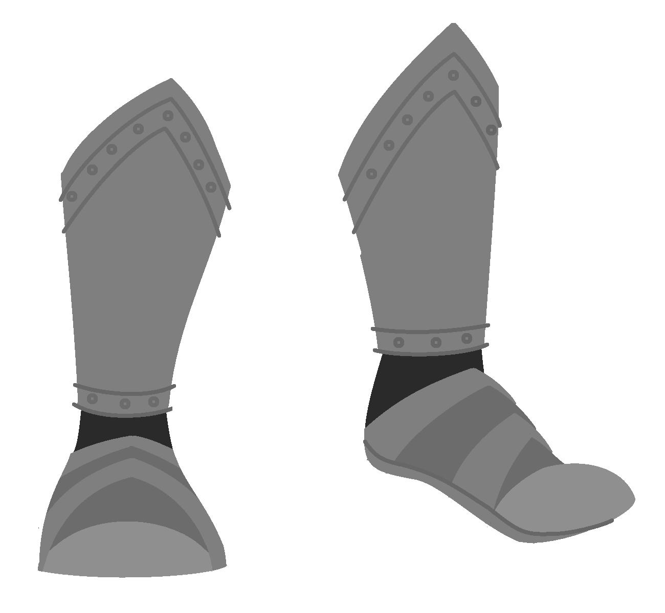 Shoe clipart armor #1
