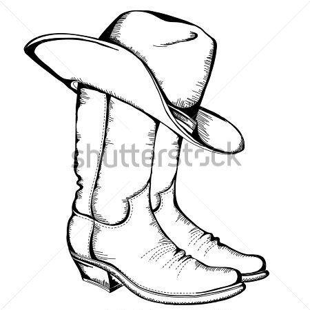 Drawn boots army Clip Art – Clip Boot