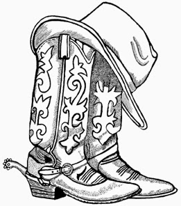 Drawn rope wooden sign Boots cowboys fashion cowboy cowboy